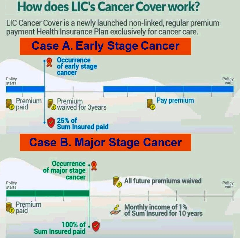 How LIC Cancer Cover plan works