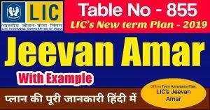 LIC Jeevan Amar Plan 855