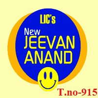 LIC new jeevan anand plan 915