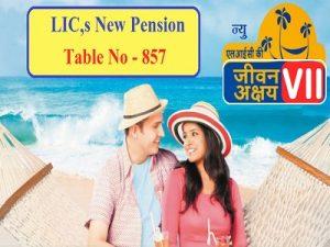 LIC Jeevan Akshay VII Pension Plan 857